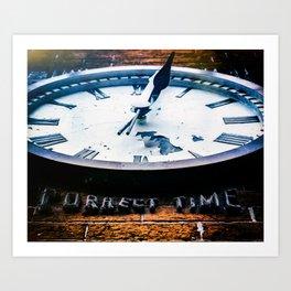 Correct Time Art Print