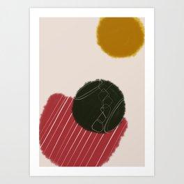 nueve Art Print