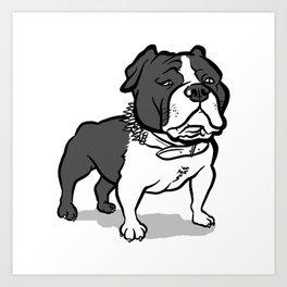 Bully Art Print
