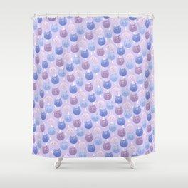 Sailor moon cat wallpaper Shower Curtain