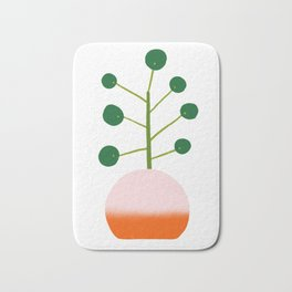 Chinese Money Plant Bath Mat