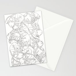 Anatomy of Hearts Stationery Cards