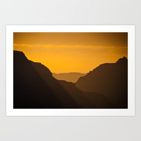 Grand Canyon Mystique Art Print
