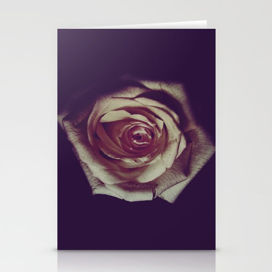not all roses are red ;) Stationery Cards