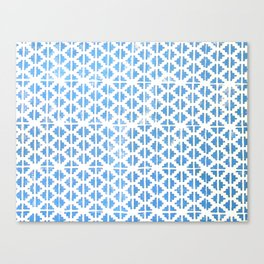 Hand Stamped Pattern  Canvas Print