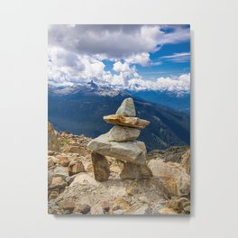 little things whistler Metal Print