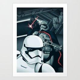 The Force Awakens: The Dark Side Art Print