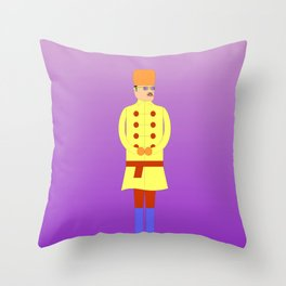 The Russian (I) Throw Pillow
