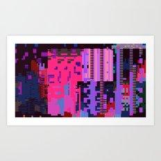 taintedcanvasmosh1 Art Print