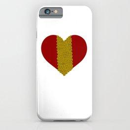 Heart Fixed With Instant Noodles - Noodle Meme iPhone Case
