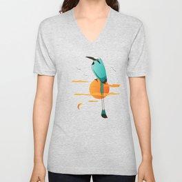 Oklahoma Bird Unisex V-Neck