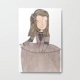 Menina Metal Print