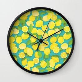 Lemon Duck Wall Clock