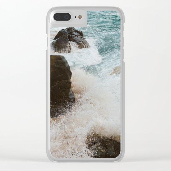 Pedregal, Mexico VIII Clear iPhone Case