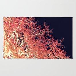 Inverted Tree Dark Night Rug