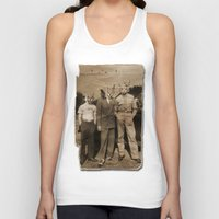blues brothers Tank Tops featuring brothers by Seamless