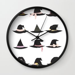 Witch of the Month Wall Clock