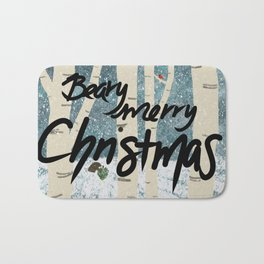 Have a Beary Merry Christmas Bath Mat