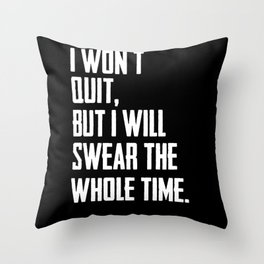 Ask About Me My Asshole Terrestrial Throw Pillow