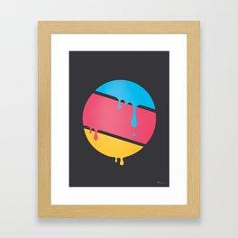 PLANET DROOLE Framed Art Print