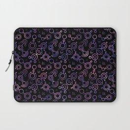 Crop Circles (Nebula Pattern) Laptop Sleeve