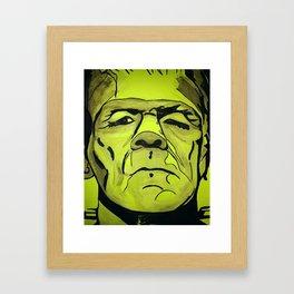 Frankenstein - Halloween special! Framed Art Print