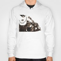 train Hoodies featuring Train by SteeleCat