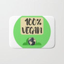 100% Vegano | 100% Vegan Bath Mat