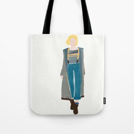 doctor who jodie whittaker 13th Doctor Tote Bag