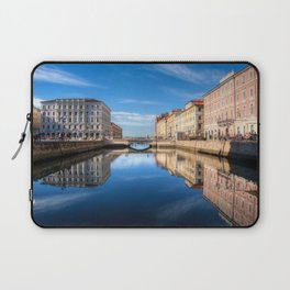 Sunny morning in Trieste, Italy. Laptop Sleeve