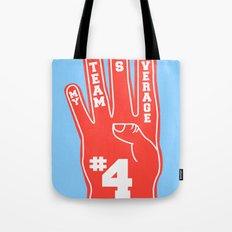 Foam Finger Tote Bag