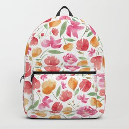 Japanese Summer Blooms Backpack