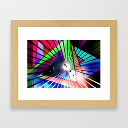 Laptop Motiv 9. Framed Art Print