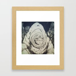 Giant of The Hollow Earth Framed Art Print