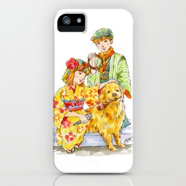 Kimono Kids vol.2 iPhone Case