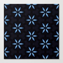 Big Blue Star Canvas Print