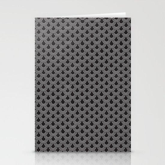 眞銀용갑옷 - Mithril DRAGON SCALES ARMOR CAPE Stationery Cards