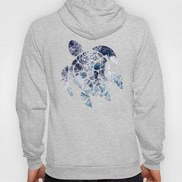 Sea Turtle - Blue Ocean Waves Hoody
