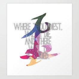 Parabatai Quote Art Print