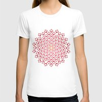 calligraphy T-shirts featuring Calligraphy: Love  by Joumana Medlej