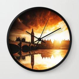 london reflections Wall Clock