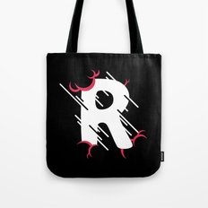 Rainy R Drop Cap Tote Bag