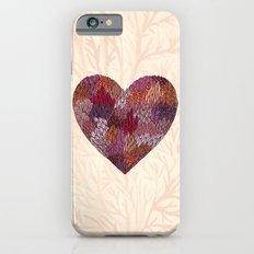 Pink Heart Slim Case iPhone 6s