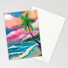 Tropical Na Pali Coast Stationery Cards