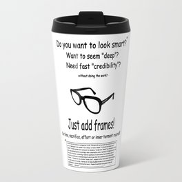 Do you want to look smart? Travel Mug