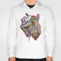 sia Hoodies featuring ELECTRIC FANTA-SIA  by Vasare Nar