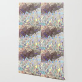 Iridescent Aura Crystals Wallpaper