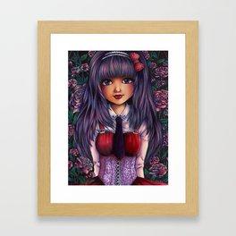 Gothic Lolita Framed Art Print