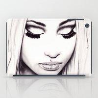 nicki iPad Cases featuring  Nicki  by Bella Harris