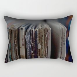 Records Rectangular Pillow